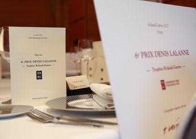 « Convier quelqu'un, c'est se charger de son bonheur pendant tout le temps qu'il est sous notre toit », écrivait Jean Anthelme Brillat-Savarin. Une invitation à l'excellence pour la table du 6e Prix Denis-Lalanne.