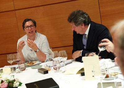 Corinne Boulloud, toujours, mais cette fois aux côtés de Philippe Peyrat, directeur du département mécénat sponsoring du groupe Engie. Deux compétences et deux autres passionnés.