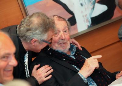Avec Christophe Penot, fondateur du Prix Denis-Lalanne. Un immense respect, une immense affection.