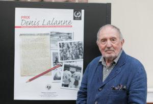 Troisième édition du Prix Denis-Lalanne. Á la fois un bel hommage à un chantre et un salut appuyé à l'indispensable presse écrite francophone.