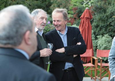 Échange de souvenirs entre Denis Lalanne et Patrice Clerc, directeur du tournoi de Roland-Garros de 1984 à 2000. Á eux deux, ils peuvent refaire quasiment toute l'histoire du tennis !