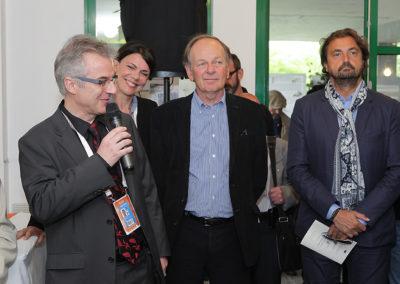« Un grand bravo ! Un grand merci ». Aux côtés de Sylvie Alexandre, de Patrice Clerc et d'Henri Leconte, ancien champion que l'on ne présente plus, Christophe Penot salue une fédération résolument engagée pour le rayonnement de la presse écrite.