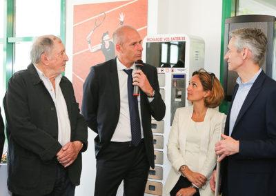 « Nous ne pouvions pas mieux choisir », explique Guy Forget, le directeur du tournoi. Denis Lalanne et Géraldine Pons en sont les premiers convaincus.