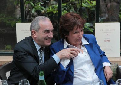 Complices ! Jean Gachassin, le président fédéral, aime à rappeler sa franche sympathie pour l'ancienne ministre de la Jeunesse et des Sports.