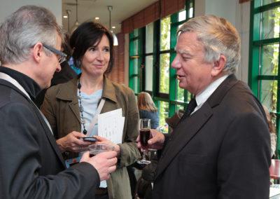 Jean Glavany, premier invité d'honneur, est revenu apporter son amitié à Denis Lalanne. Une manière aussi de fêter, avec Christophe Penot et Sylvie Poulain de Ligt, le succès de cette édition inaugurale.