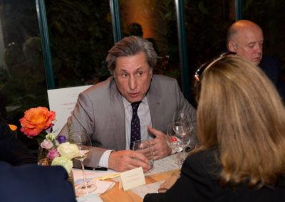 Tête-à-tête constructif entre l'invité d'honneur et la présidente du jury. Deux figures de la télévision et de l'information !