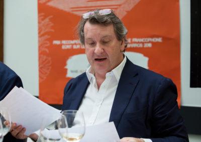 Sixième Prix Denis-Lalanne consécutif pour Philippe Peyrat, directeur général de la Fondation d'entreprise Engie et directeur des partenariats. Un juré attentif, aux notes de lecture toujours solidement argumentées !