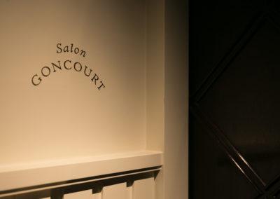 Le Drouant, certes… Mais surtout le plus fameux des salons littéraires de France, celui des Goncourt !