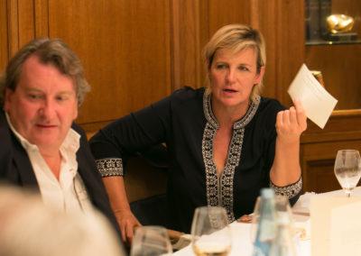 Ici comme partout, chaque bulletin de vote compte ! Ce que ne manque pas de répéter Céline Géraud, la présidente du Jury, en compagnie de Philippe Peyrat.