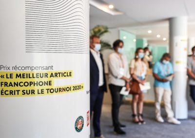 On ne saurait trouver de meilleur résumé. Le 9e Prix Denis-Lalanne récompense le meilleur article de presse écrit en langue française au cours du tournoi de Roland-Garros 2020.